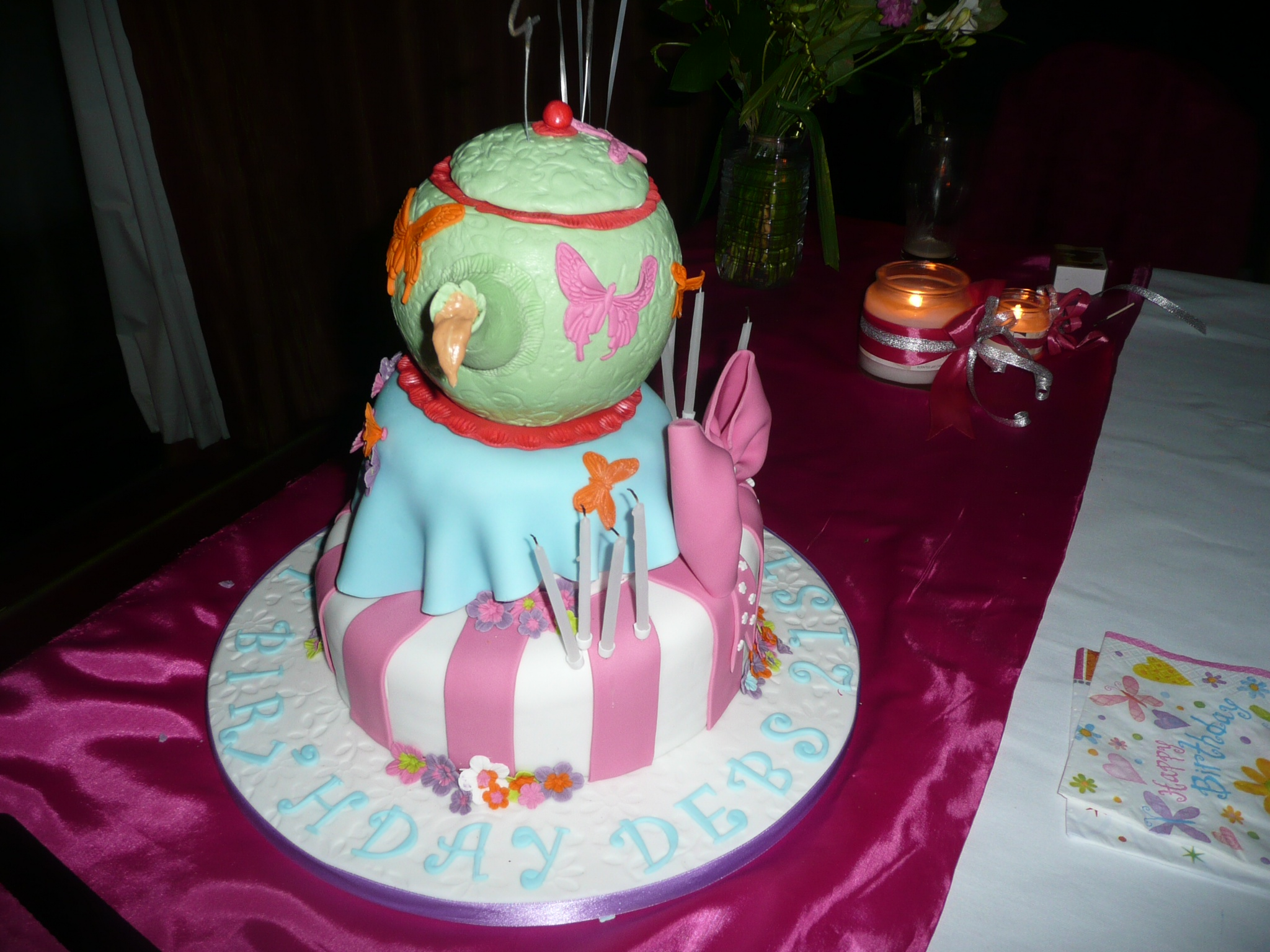 Mad Hatter Cake Thesilverchicken